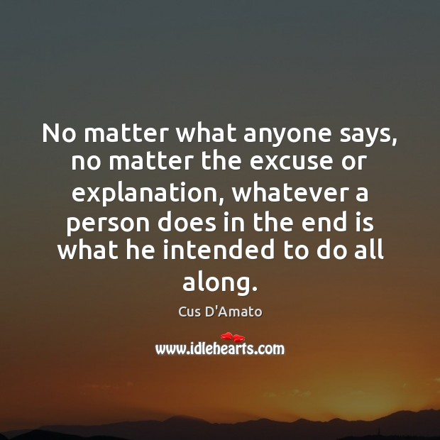 No Matter What Quotes