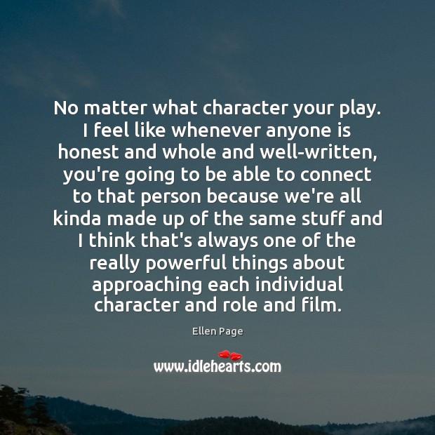 Image, No matter what character your play. I feel like whenever anyone is