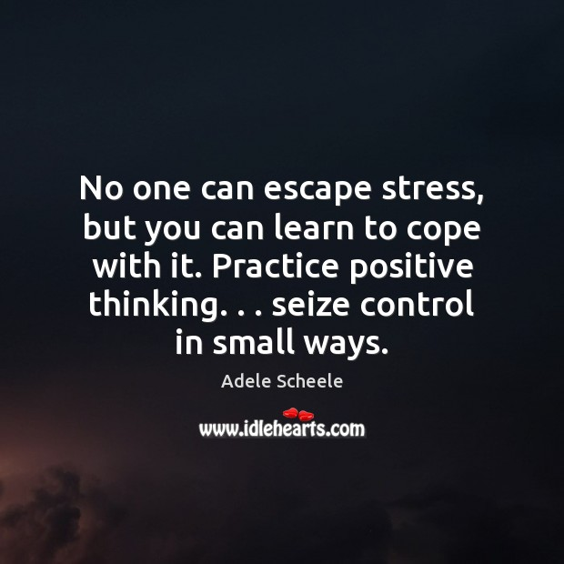 Image, No one can escape stress, but you can learn to cope with