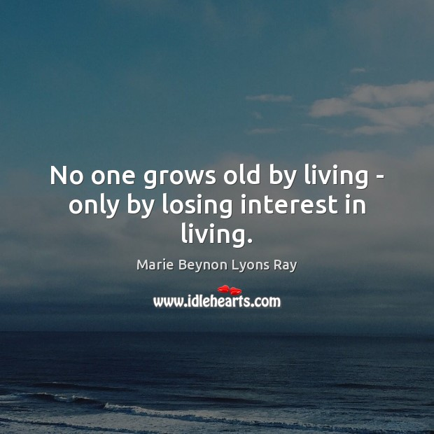 Picture Quote by Marie Beynon Lyons Ray