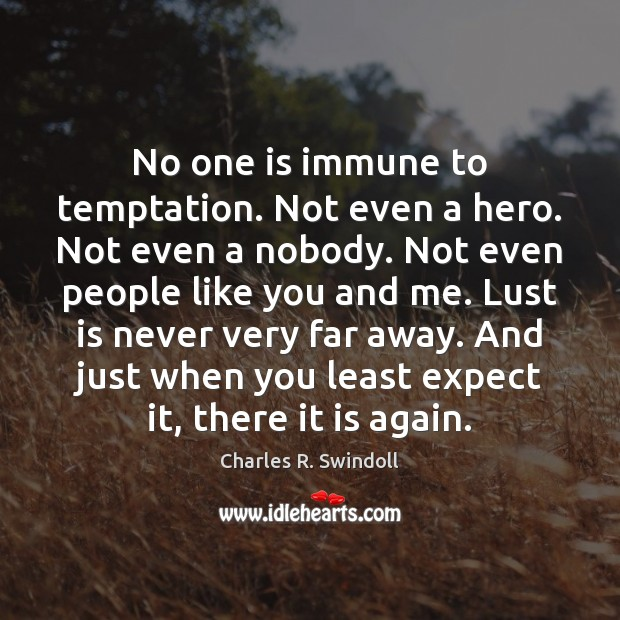 No one is immune to temptation. Not even a hero. Not even Image