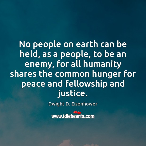 No people on earth can be held, as a people, to be Image