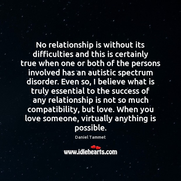 No relationship is without its difficulties and this is certainly true when Image