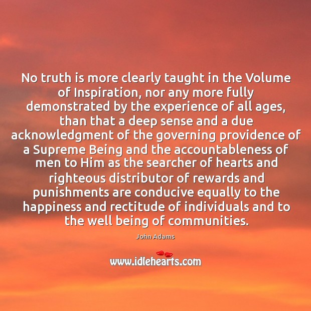 Image, No truth is more clearly taught in the Volume of Inspiration, nor