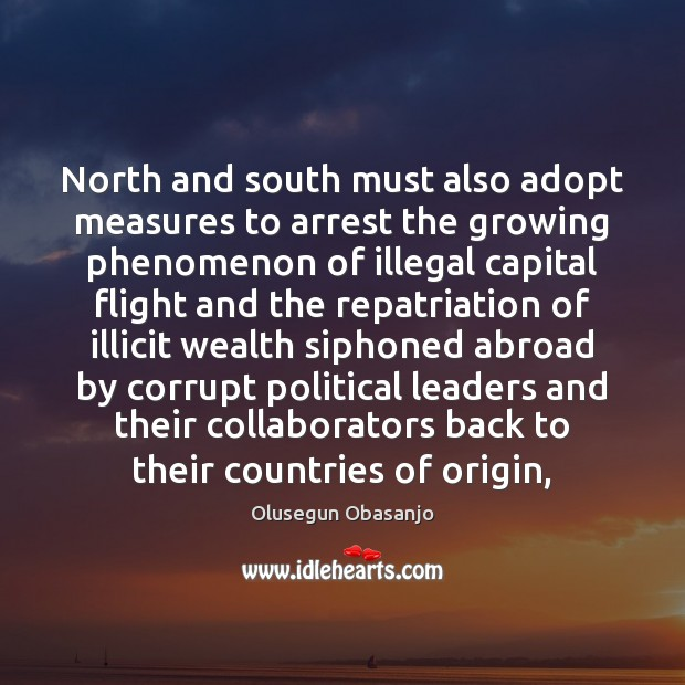 North and south must also adopt measures to arrest the growing phenomenon Image