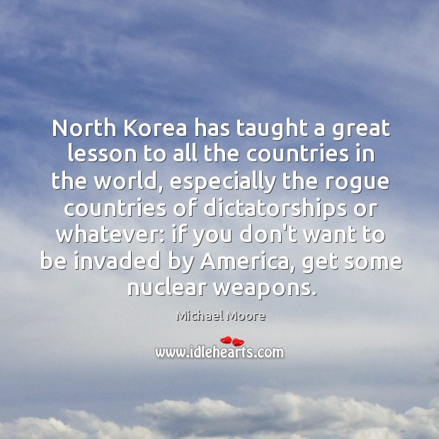North Korea has taught a great lesson to all the countries in Image