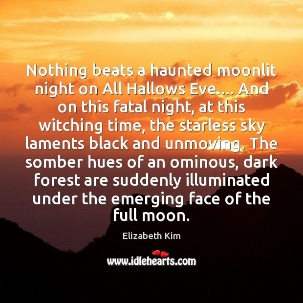 Nothing beats a haunted moonlit night on All Hallows Eve…. And on Image