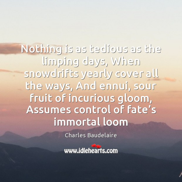 Picture Quote by Charles Baudelaire