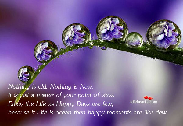 Enjoy The Every Moment Of Life…