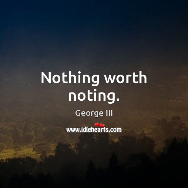 Nothing worth noting. Image