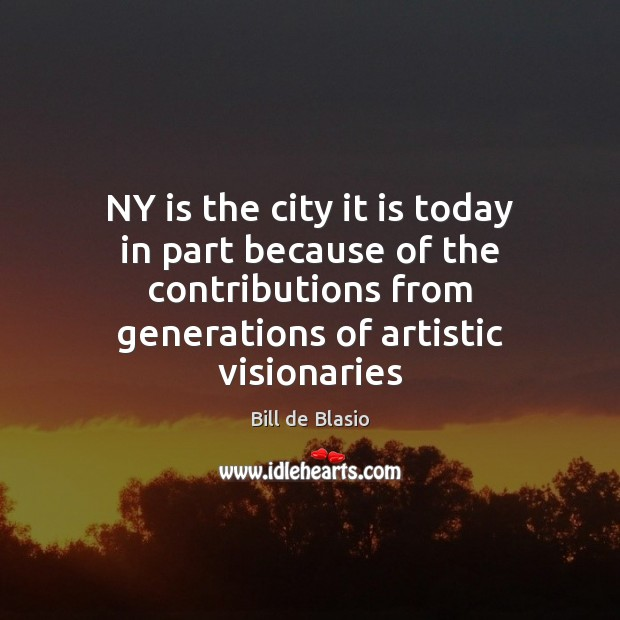 Image, NY is the city it is today in part because of the