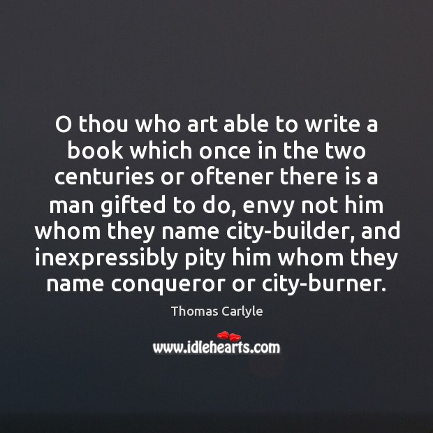 O thou who art able to write a book which once in Image