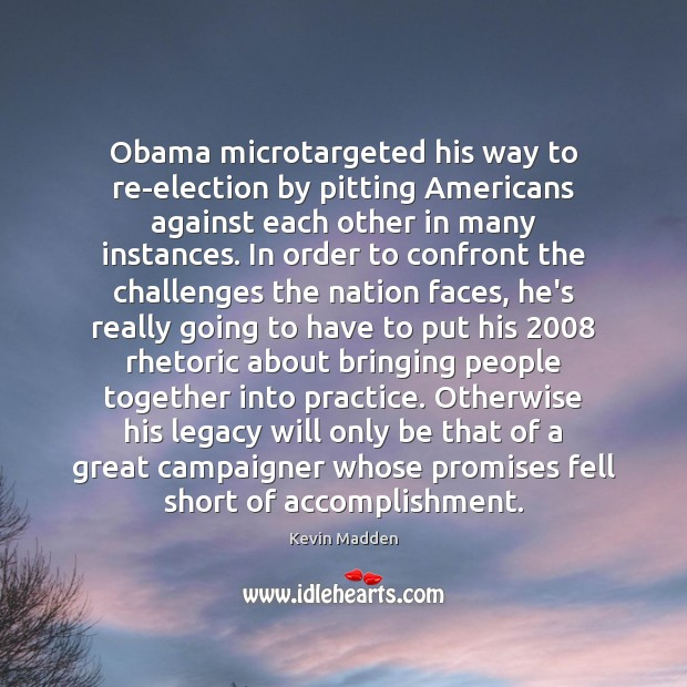 Obama microtargeted his way to re-election by pitting Americans against each other Image