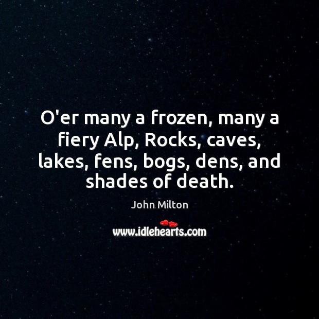 Image, O'er many a frozen, many a fiery Alp, Rocks, caves, lakes, fens,