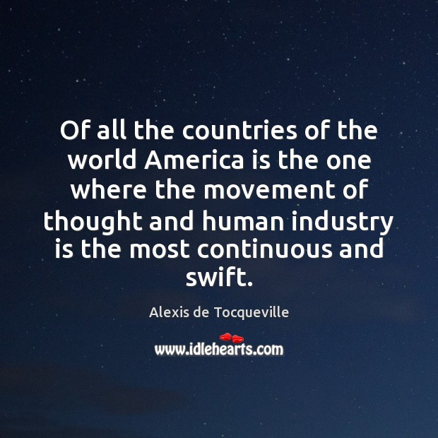 Of all the countries of the world America is the one where Image