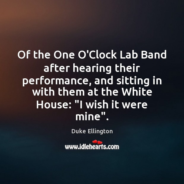 Picture Quote by Duke Ellington