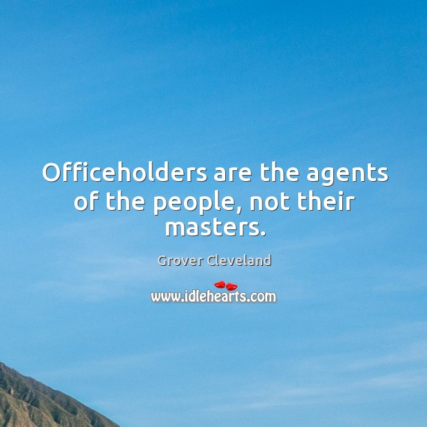 Picture Quote by Grover Cleveland