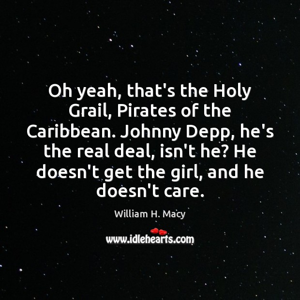 Image, Oh yeah, that's the Holy Grail, Pirates of the Caribbean. Johnny Depp,
