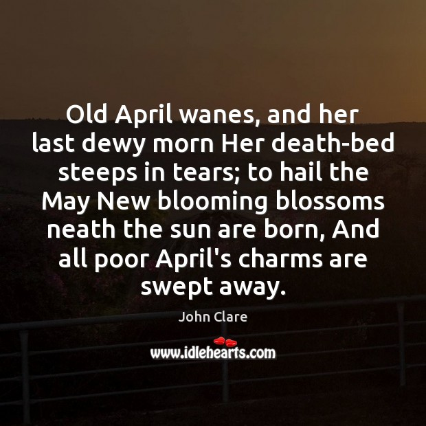 Picture Quote by John Clare