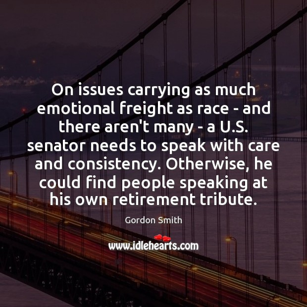 On issues carrying as much emotional freight as race – and there Image