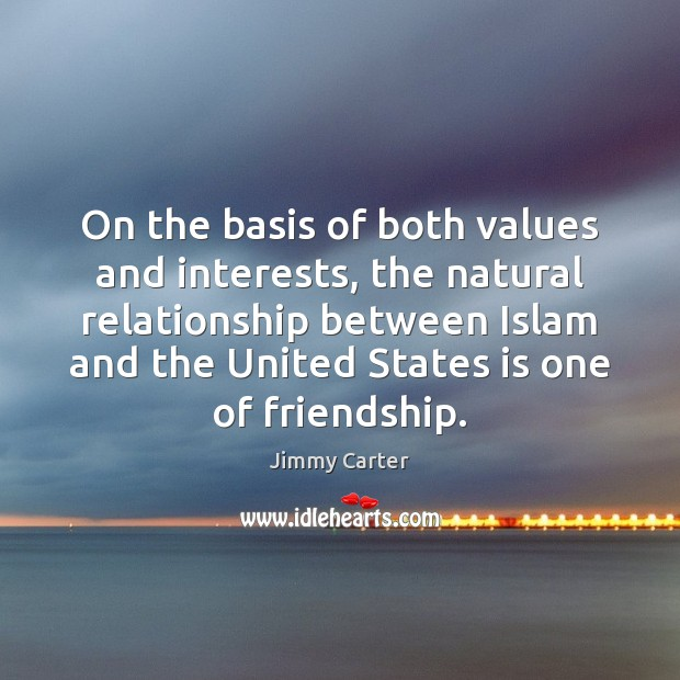 Image, On the basis of both values and interests, the natural relationship between
