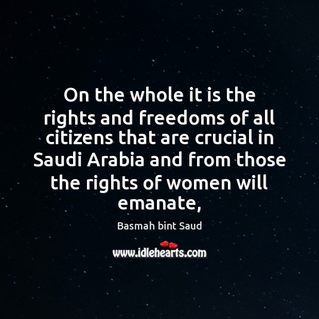 Image, On the whole it is the rights and freedoms of all citizens