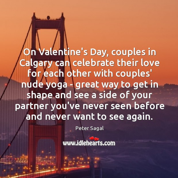 On Valentine's Day, couples in Calgary can celebrate their love for each Image