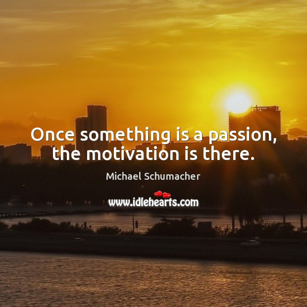 Passion And Motivation