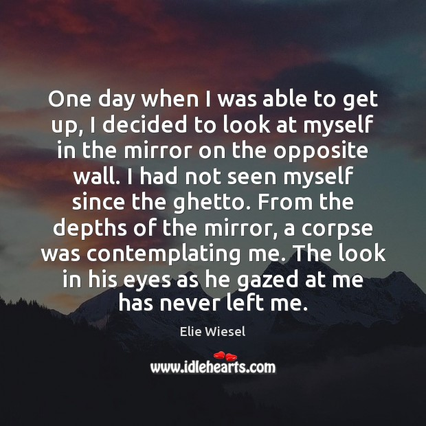 One day when I was able to get up, I decided to Image