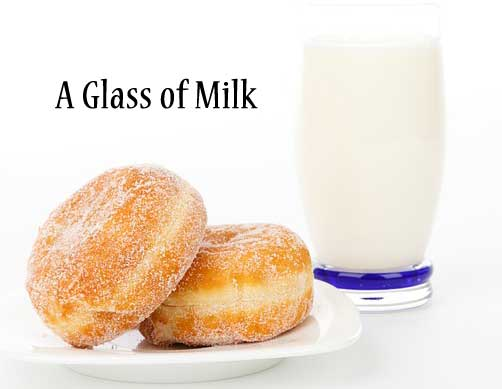 Paid in full with one glass of milk Motivational Stories Image