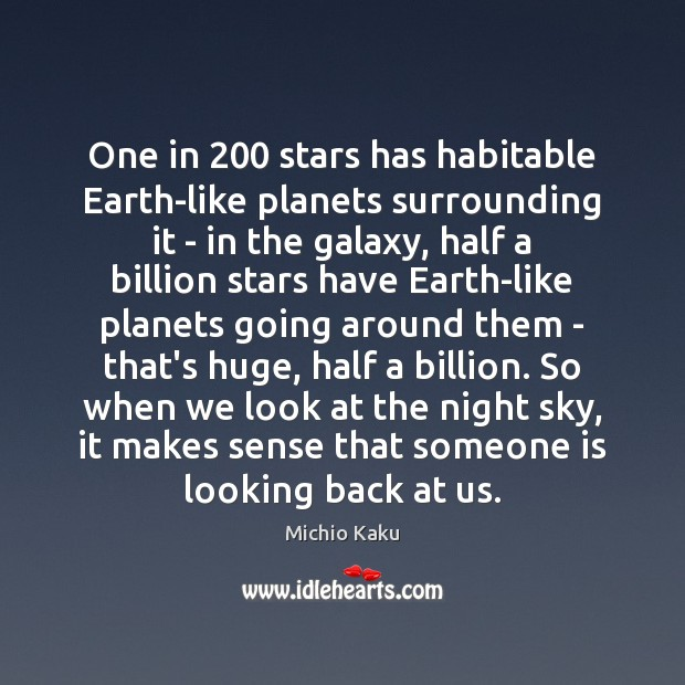 One in 200 stars has habitable Earth-like planets surrounding it – in the Image