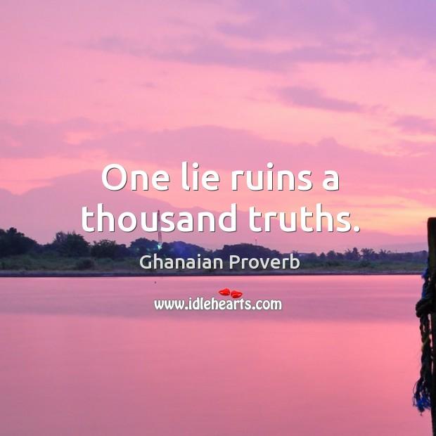 Ghanaian Proverbs