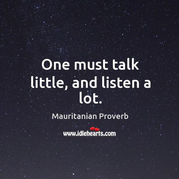 Mauritanian Proverbs