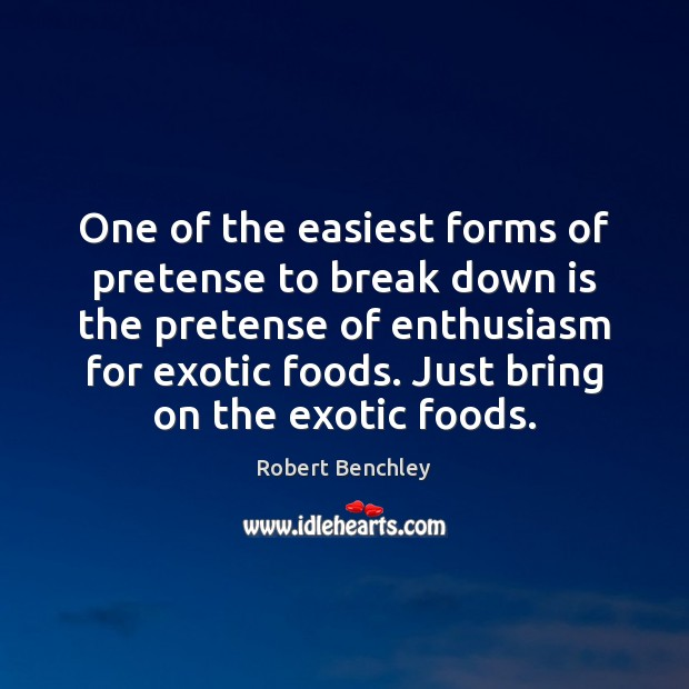 Image, One of the easiest forms of pretense to break down is the