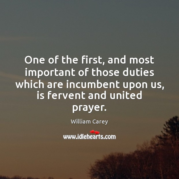 One of the first, and most important of those duties which are Image