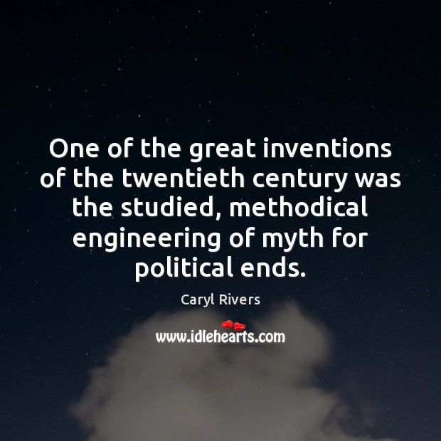 One of the great inventions of the twentieth century was the studied, Image