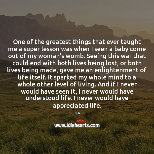 One of the greatest things that ever taught me a super lesson Image