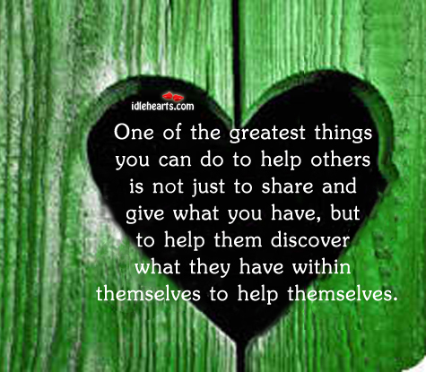 One Of The Greatest Things You Can Do To…