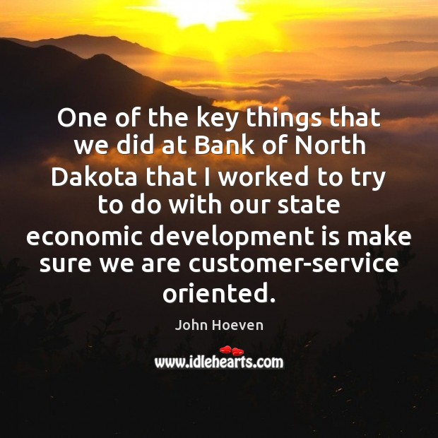 One of the key things that we did at Bank of North Image