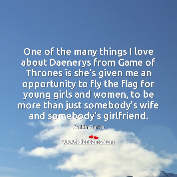 One of the many things I love about Daenerys from Game of Image