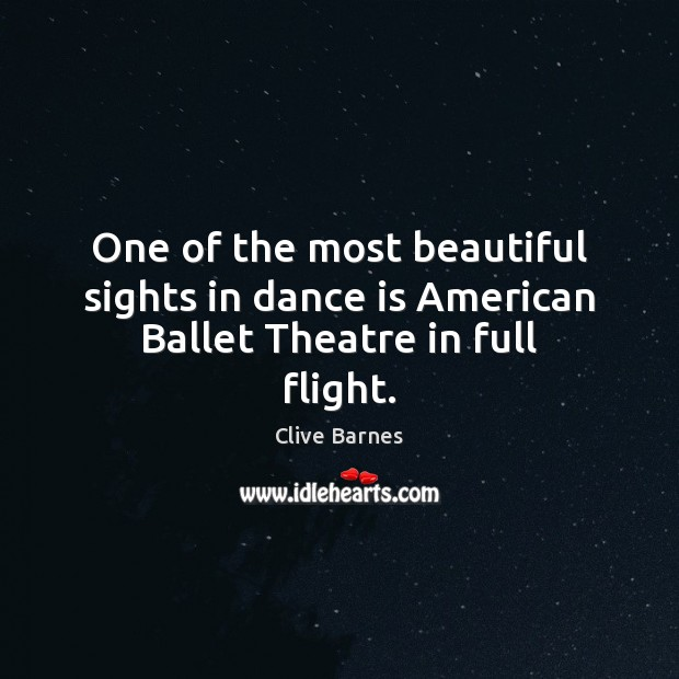 One of the most beautiful sights in dance is American Ballet Theatre in full flight. Image