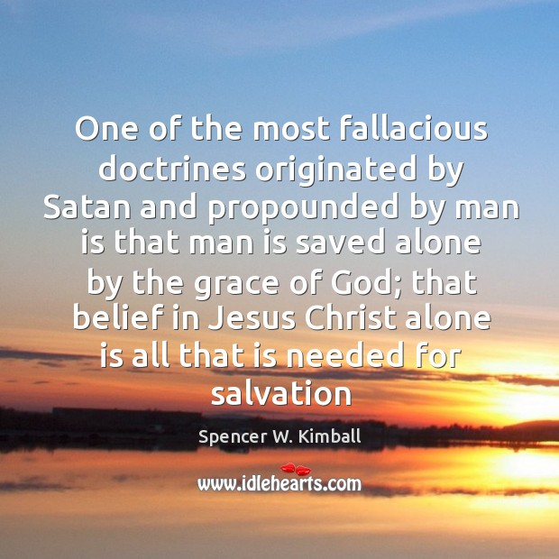 Image, One of the most fallacious doctrines originated by Satan and propounded by