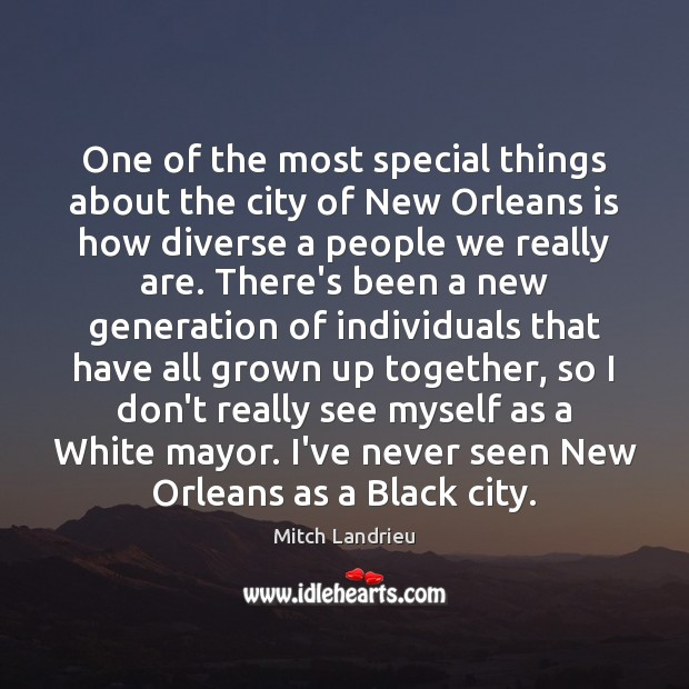 One of the most special things about the city of New Orleans Image