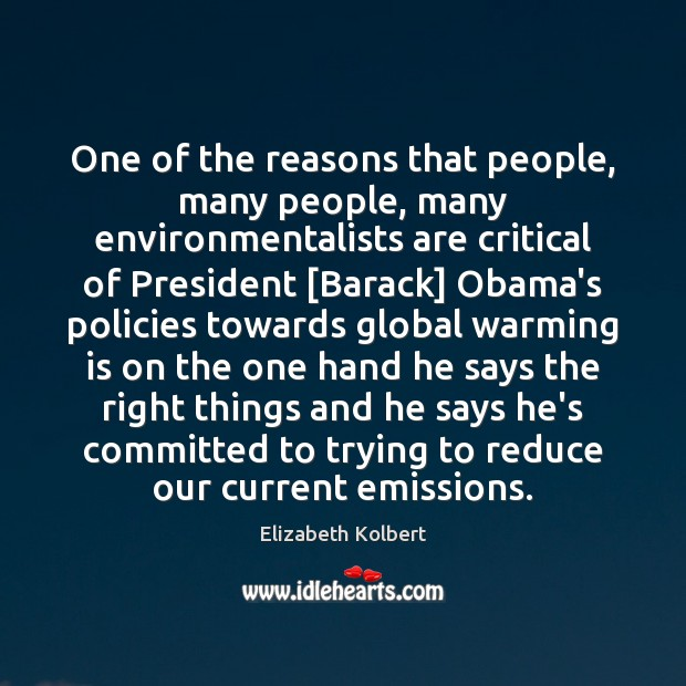 Image, One of the reasons that people, many people, many environmentalists are critical