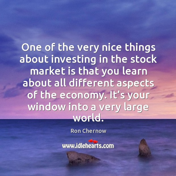 One of the very nice things about investing in the stock market is that you learn Image