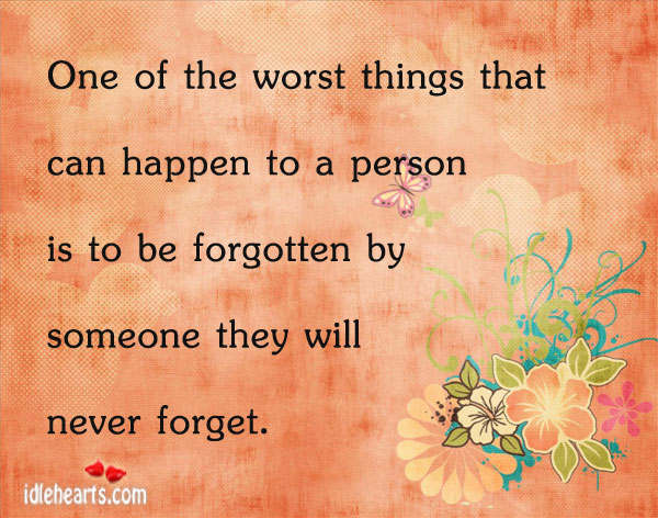 One Of The Worst Things That Can Happen To A…