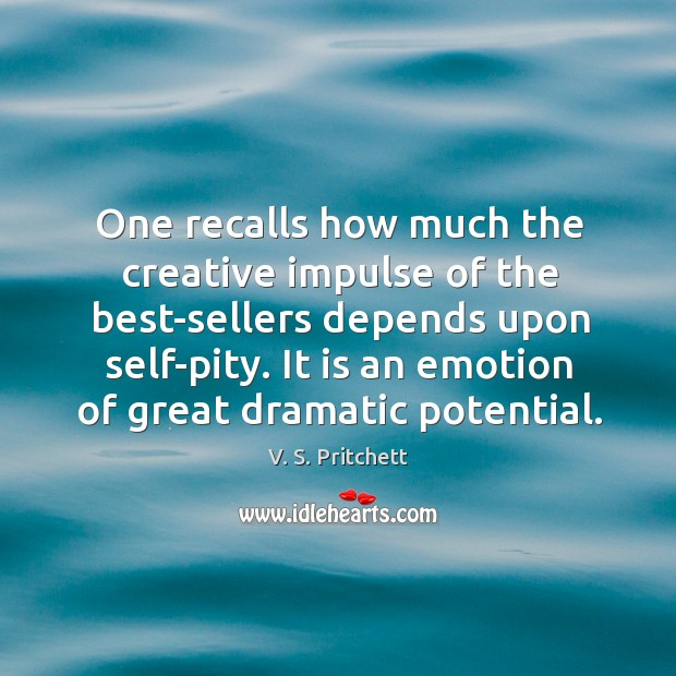 Image, One recalls how much the creative impulse of the best-sellers depends upon