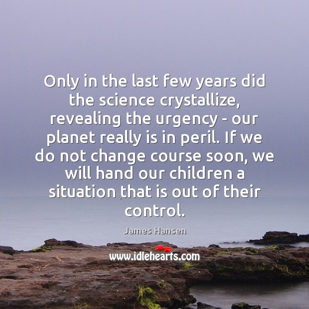 Only in the last few years did the science crystallize, revealing the Image