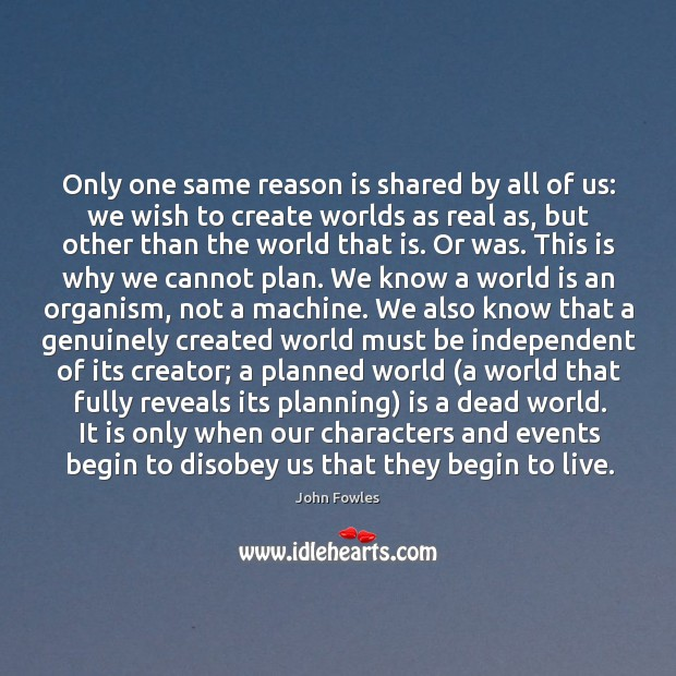 Only one same reason is shared by all of us: we wish Image