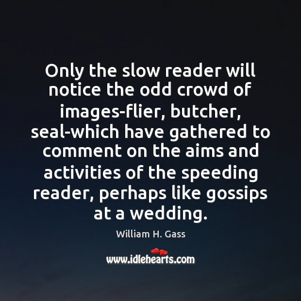 Only the slow reader will notice the odd crowd of images-flier, butcher, Image